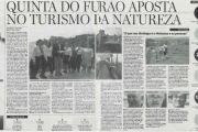 Notícia Diário de Notícias - Cliente Quinta do Furão