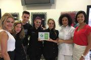 Entrega do Prémio de Segurança e Saúde no Trabalho - Clara Hair Spa Ribeira Brava