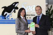 """""""Orca praia"""" recebe o prémio dourado que corresponde a um elevado nível de conformidade."""