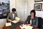Assinatura Protocolo - QualiRAM & MPE - Madeira Parques Empresariais